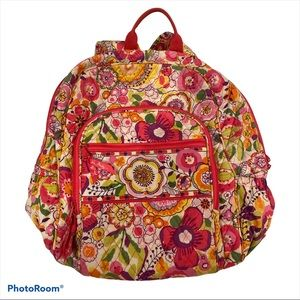 Very Bradley Clementine pattern backpack
